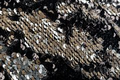 предпосылка поверхности sequin Анти--стресса стоковое изображение rf