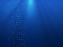 предпосылка подводная Стоковые Изображения RF