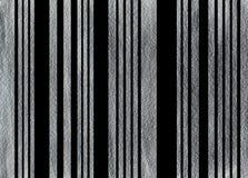 Предпосылка покрашенная серебром striped Стоковые Изображения RF