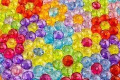Предпосылка покрашенных шариков, предпосылка цветков сделанных покрашенных шариков Стоковое фото RF