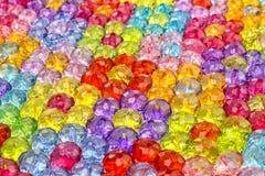 Предпосылка покрашенных шариков, предпосылка цветков сделанных покрашенных шариков Стоковое Изображение RF