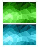 Предпосылка полигона абстрактная Стоковые Фотографии RF