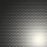 Предпосылка полутонового изображения кругов вектора monochrome Стоковое фото RF