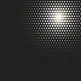 Предпосылка полутонового изображения кругов вектора monochrome Стоковое Изображение RF