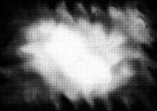 Предпосылка поставленная точки полутоновым изображением в стиле искусства шипучки бесплатная иллюстрация