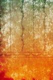 Предпосылка постаретая сбором винограда Стоковое Фото