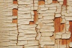 Предпосылка постаретых и выдержанных текстурированных деревянных планок с старой Стоковое фото RF
