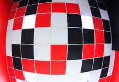 Предпосылка потолка с плитками цвета Стоковое Фото