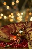 Предпосылка праздника колокола чулка Стоковая Фотография RF