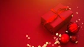 Предпосылка праздника рождества и Нового Года Поздравительная открытка Xmas зима снежка положения праздников мальчика стоковые изображения rf