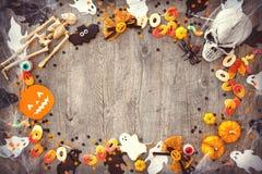 Предпосылка праздника хеллоуина Стоковые Изображения RF
