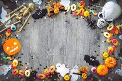 Предпосылка праздника хеллоуина стоковые фото