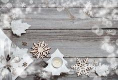 Предпосылка праздников рождества Стоковые Изображения RF