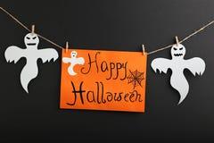 предпосылка празднует праздник halloween привидений Стоковое Изображение RF