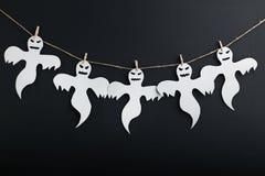 предпосылка празднует праздник halloween привидений Стоковые Изображения RF