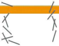 предпосылка пригвождает древесину Стоковое Изображение RF