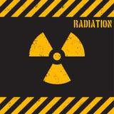 Предпосылка радиации grunge вектора