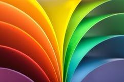 Предпосылка радуги Стоковые Фото