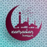 Предпосылка Рамазана Kareem, предпосылка Рамазана Mubarak, исламская предпосылка Стоковые Фотографии RF