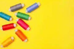 Предпосылка ремесленничества E Аксессуары для needlework стоковые фото