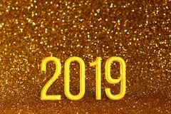 Предпосылка рождества 2019 или Нового Года стоковые изображения