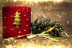 Предпосылка рождества искусства стоковое изображение rf