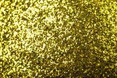 Предпосылка рождества конспекта золотая сияющая с космосом экземпляра стоковое фото