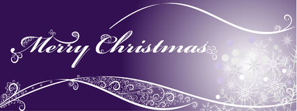 Предпосылка рождества праздничная с снежинками. Стоковые Фотографии RF