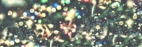 Предпосылка рождества, рождество Волшебная fairy предпосылка Стоковая Фотография