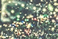 Предпосылка рождества, рождество Волшебная fairy предпосылка Стоковые Изображения