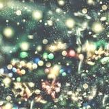 Предпосылка рождества, рождество Волшебная fairy предпосылка Стоковое Изображение