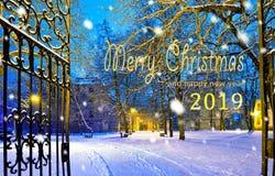 Предпосылка рождества с записью с Рождеством Христовым стоковое изображение rf