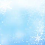 Предпосылка рождества с снежинками Иллюстрация штока