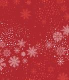 Предпосылка рождества с snow Стоковое фото RF