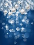 Предпосылка рождества иллюстрация вектора