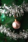 Предпосылка рождества Defocused стоковые фотографии rf