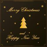 Предпосылка рождественской елки - красота украшения запаса искусства бесплатная иллюстрация