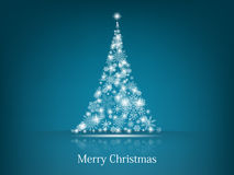 Предпосылка рождественской елки Стоковые Изображения RF