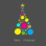 Предпосылка рождественской елки Стоковые Изображения