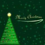 Предпосылка рождественской открытки Стоковые Фото