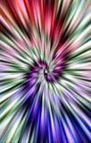 предпосылка роскошная Красивая покрашенная спираль Стоковое Фото
