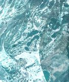 Предпосылка руки вычерченная голубая абстрактная иллюстрация штока