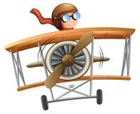 Предпосылка самолета летания человека белая бесплатная иллюстрация