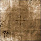 Предпосылка сбора винограда бумажная Стоковое фото RF