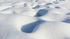 Предпосылка свежей текстуры снега в голубом тоне панорамно стоковые изображения