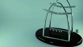 Предпосылка света вашгерда ` s Ньютона с космосом для текста сток-видео