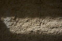 Предпосылка света и тени на стене Стоковая Фотография