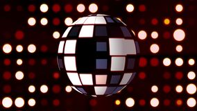 Предпосылка светов шарика диско - новое всеобщее красочное радостное изображение запаса праздника танцевальной музыки иллюстрация вектора