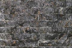 предпосылка сделала каменную белизну стены текстуры камней Стоковое Изображение RF