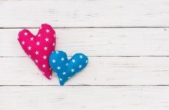 Предпосылка сердец для Wedding или карточки дня валентинок Стоковая Фотография RF